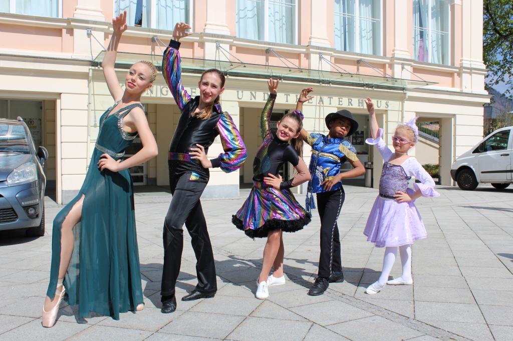 5 sehr talentierte TänzerInnen